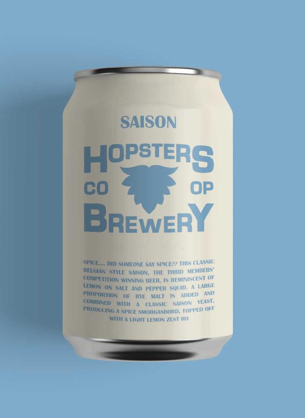 Hopsters Saison Can